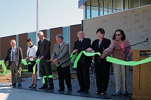 Kearney Center Ribbon Cutting