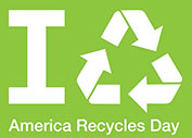 America Recycles Day Emblem