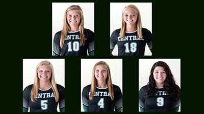 Volleyball Honorees